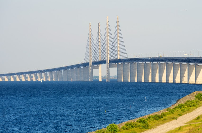 Oresund Bridge. Europe